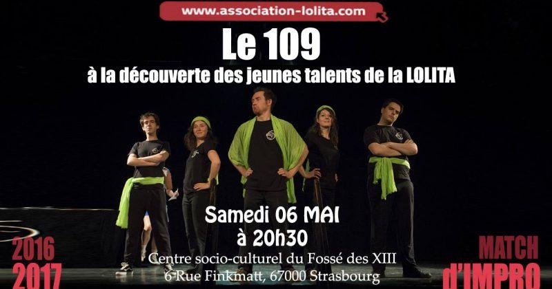 Le spectacle du 109