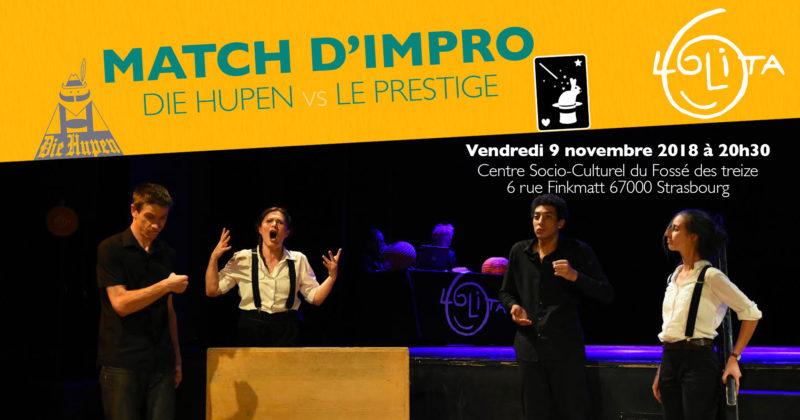 Match d'impro : Die Hupen vs Le Prestige