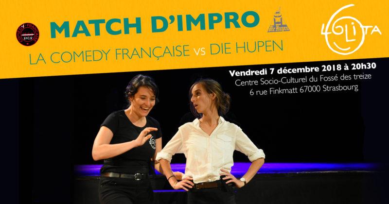 Match d'impro : La Comedy Française vs Die Hupen