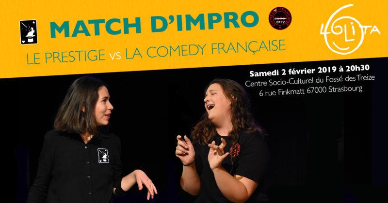 Match d'impro : Le Prestige vs La Comedy Française