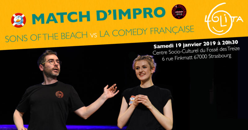 Match d'impro : Sons of the Beach vs La Comedy Française
