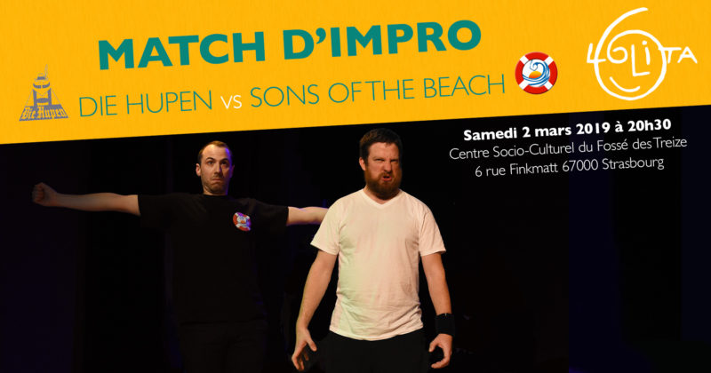 Match d'impro : Die Hupen vs Sons of the Beach
