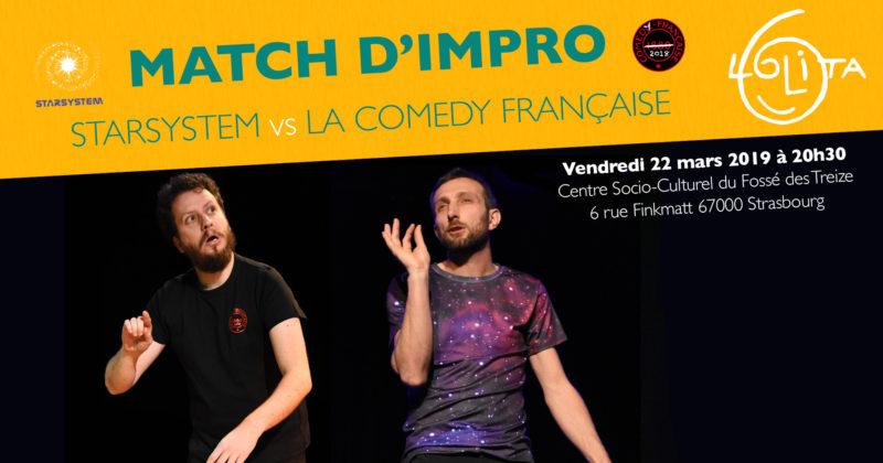 Match d'impro : Starsystem vs La Comedy Française