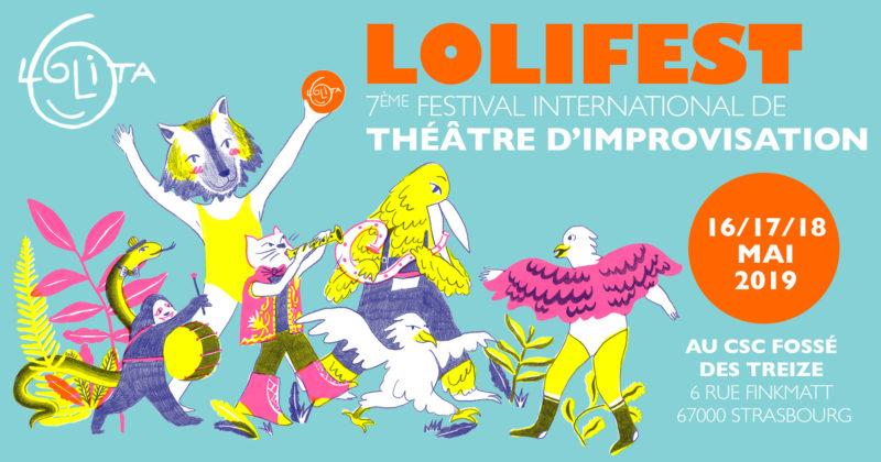 LOLIFEST : 7ème festival de théâtre d'impro