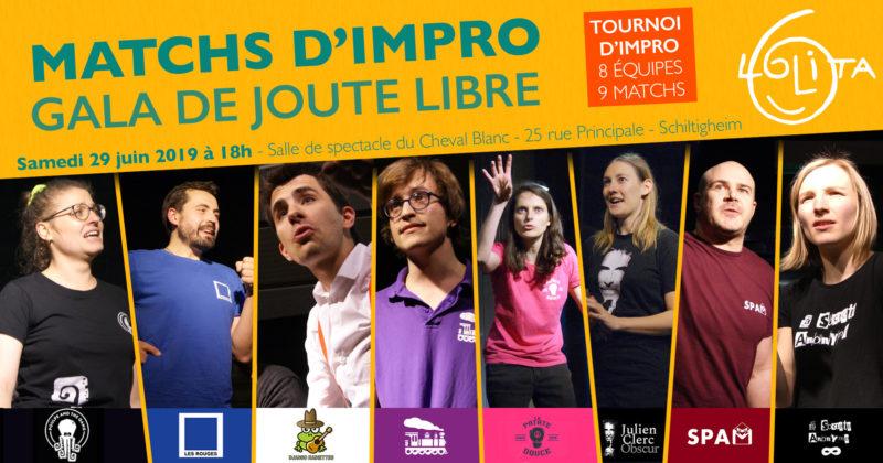 Matchs d'impro : Gala de Joute Libre