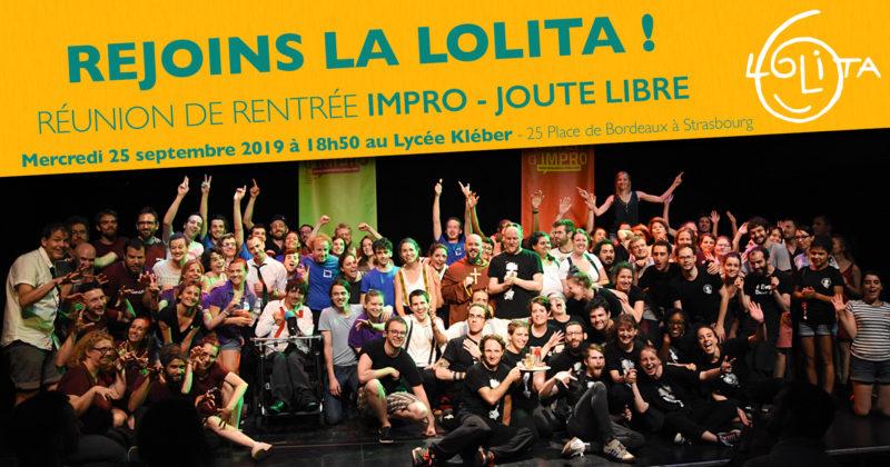 Réunion de rentrée : Faire de l'impro en Joute Libre à la Lolita