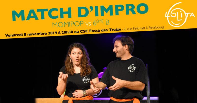 Match d'Impro : Momipop vs 6ème B