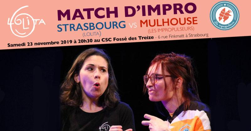 Match d'Impro : Lolita vs Les Impropulseurs (Mulhouse)