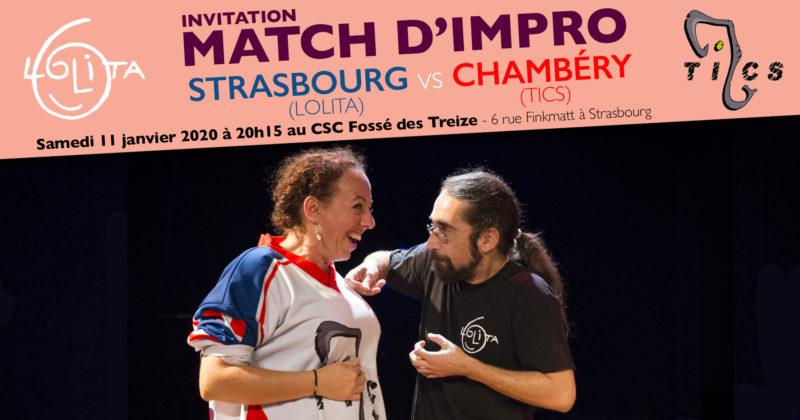 Match d'impro : Lolita vs TICS Chambéry