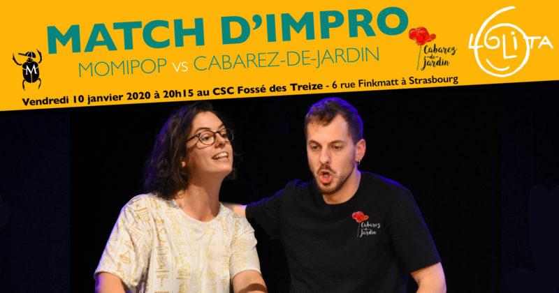 Match d'impro : Momipop vs Cabarez-de-Jardin