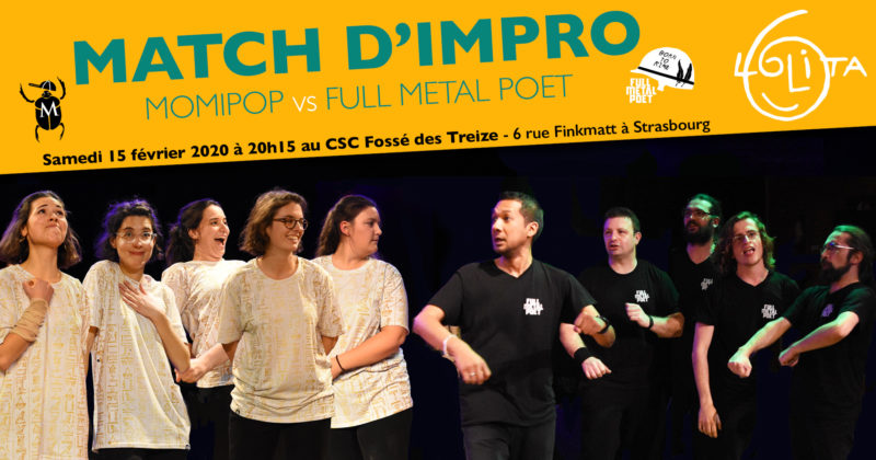 Complet! Match d'impro : Momipop vs Full Metal Poet