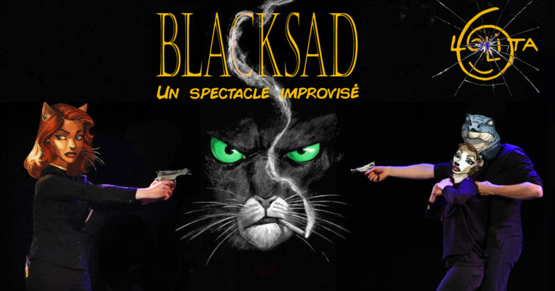 Blacksad : un spectacle improvisé