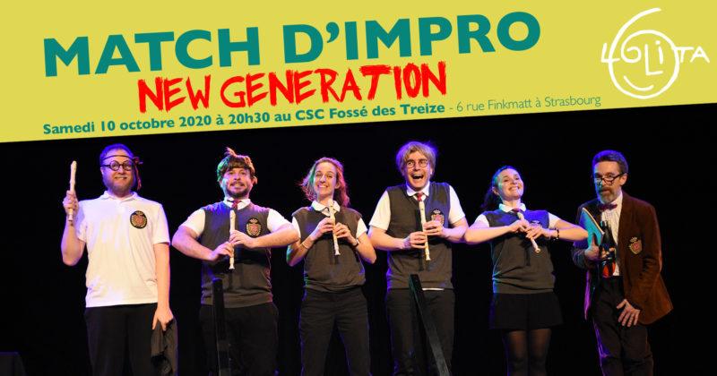 Match d'impro : New Generation