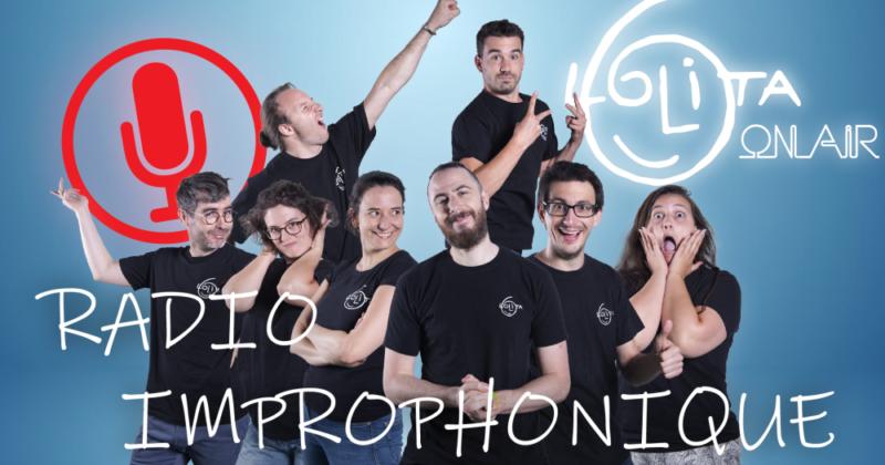 Radio Improphonique : la Lolita sur Radio Arc-en-Ciel