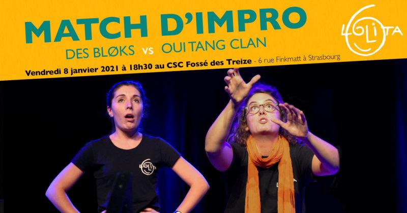 [Reporté] Match d'Impro : Des Bløks vs Oui Tang Clan