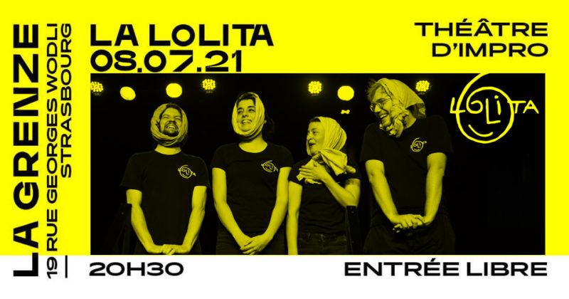 Match d'impro Lolita à La Grenze