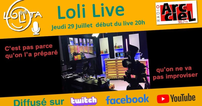A revoir : Le LoliLive by Radio Improphonique!