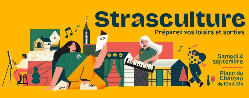 Stand Impro et spectacle à Strasculture