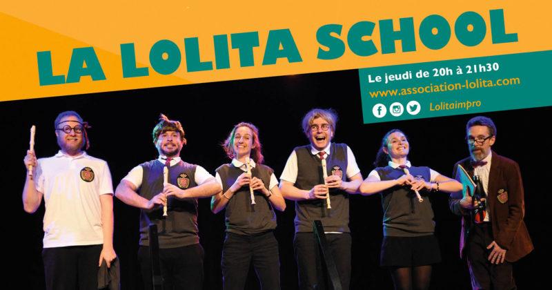 La Lolita School : ateliers d'impro adulte au CSC Fossé des Treize